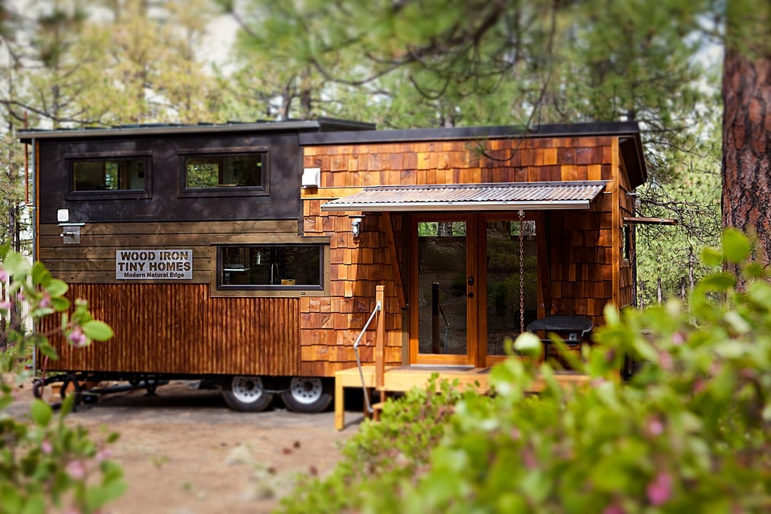 Wood Iron Tiny Homes in Sisters, Oregon