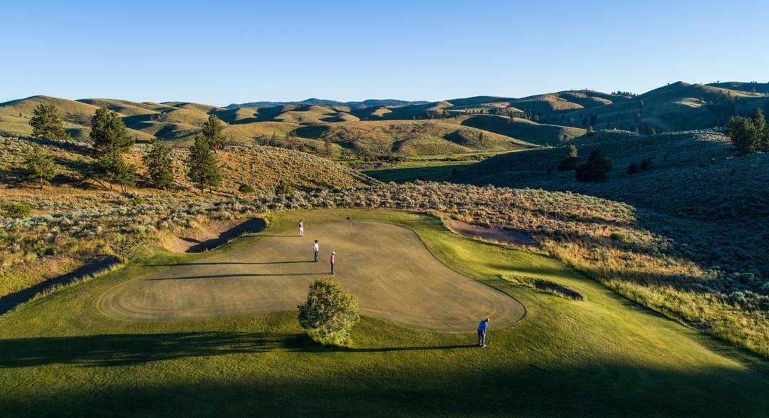 Silvies Valley Ranch golf course near Burns, Oregon