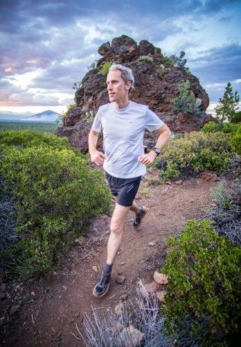 Lucas Alberg Running Peterson Ridge Trail