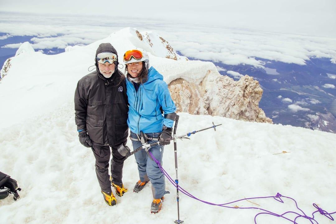 Anna Soens Climbs Mount Hood