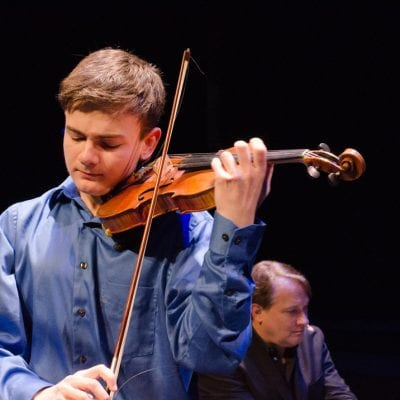 All the World's a Stage for Local Violin Prodigy