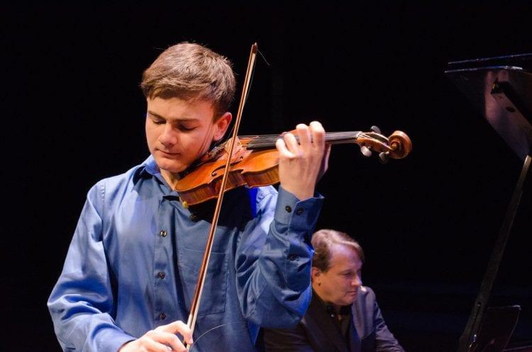 Violin Prodigy John Fawcett from Bend, Oregon