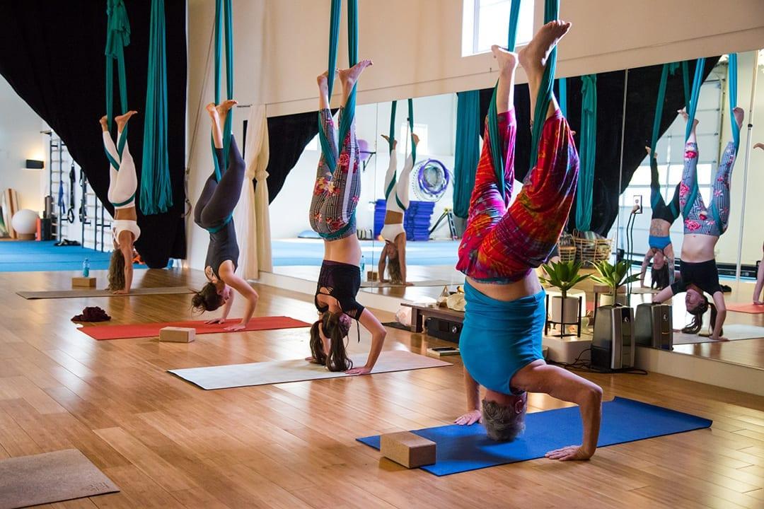 Aerial Yoga at Tula Movement Arts in Bend, Oregon