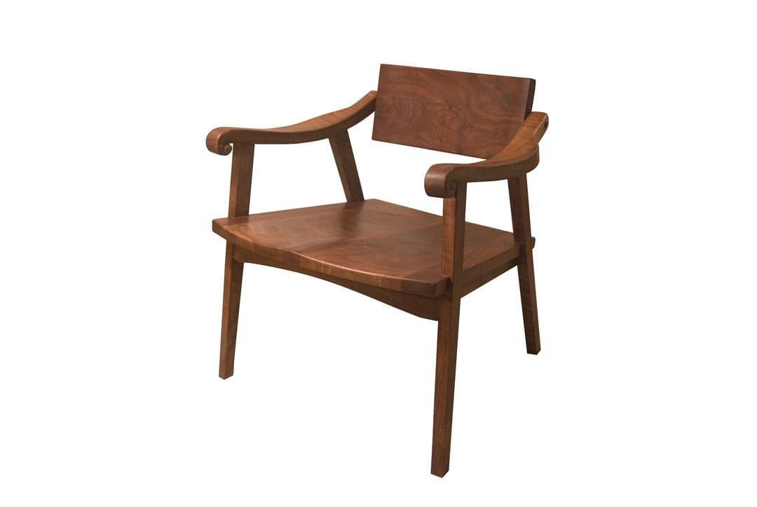 A chair by Nashwood in Bend, Oregon