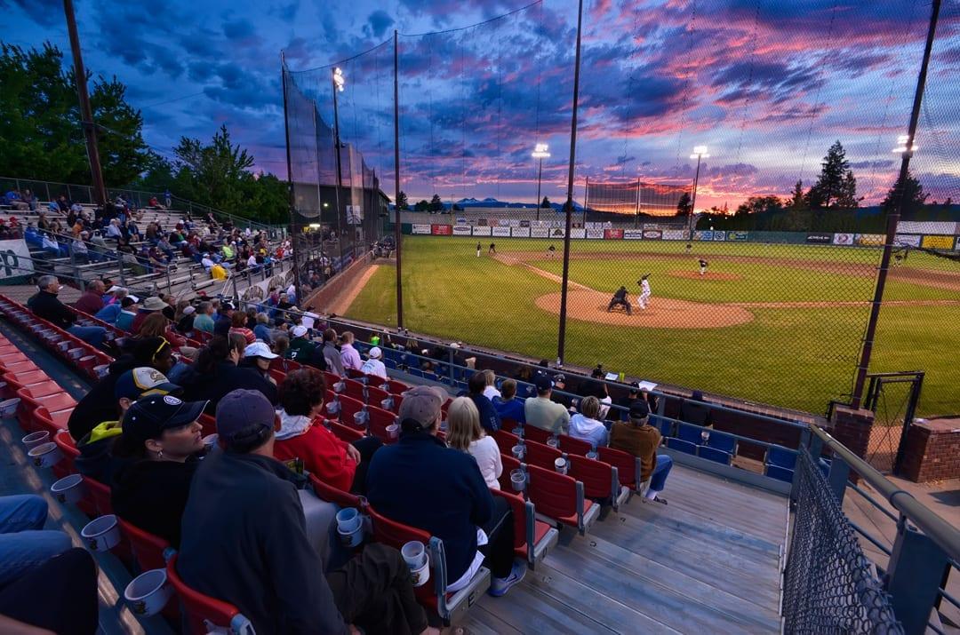 Vince Genna Stadium home of the Bend Elks in Bend, Oregon