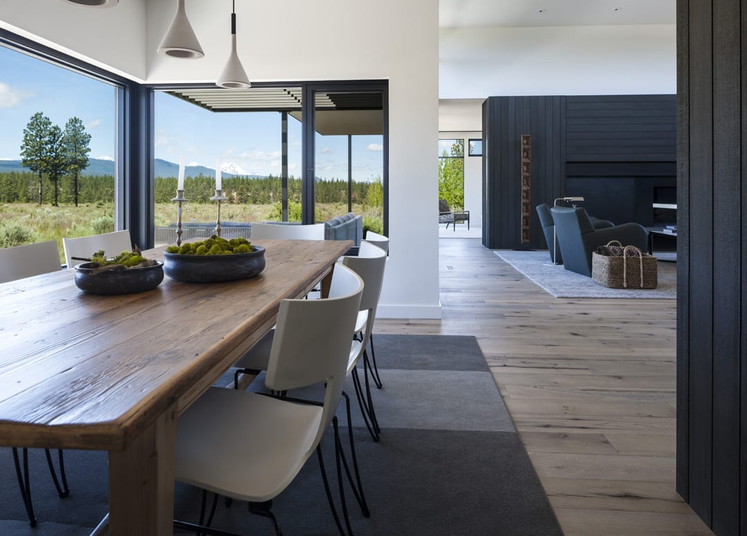 Modern home design and style in Bend, Oregon