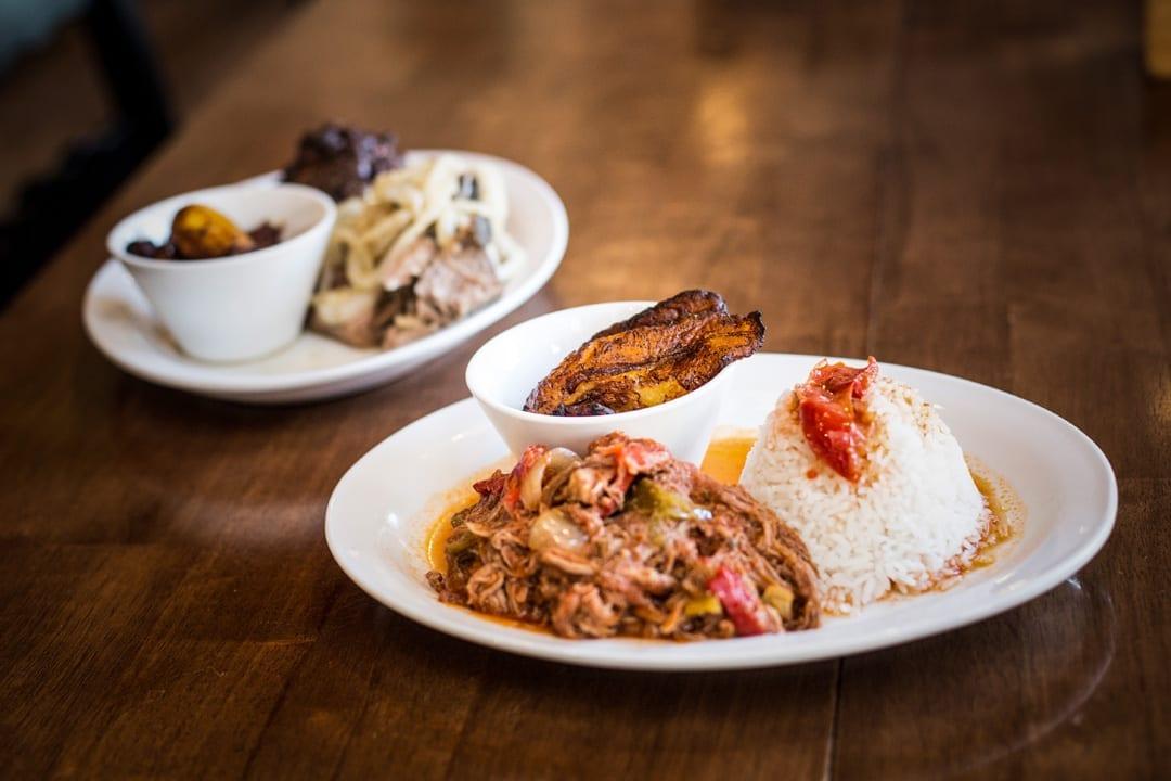 Cuban cuisine at Cuban Kitchen in Bend, Oregon