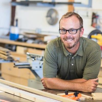 Daniel Laudenslager's Carpentry Elevates Plywood
