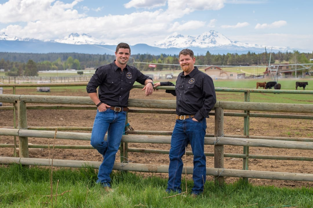Pioneer Ranch beef near Bend, Oregon