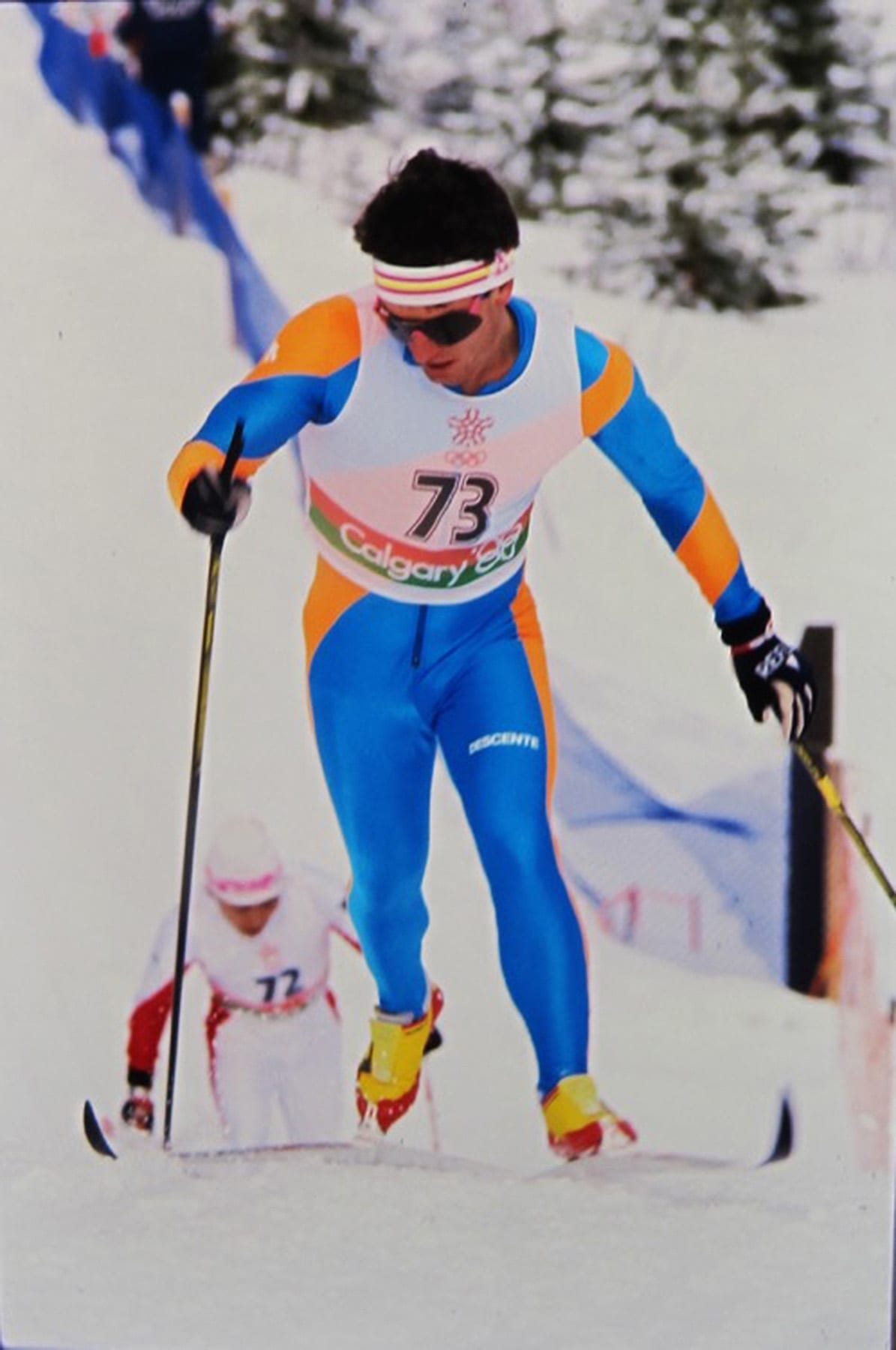 Former Olympic Athlete nordic skiier Dan Simoneau in Bend, Oregon