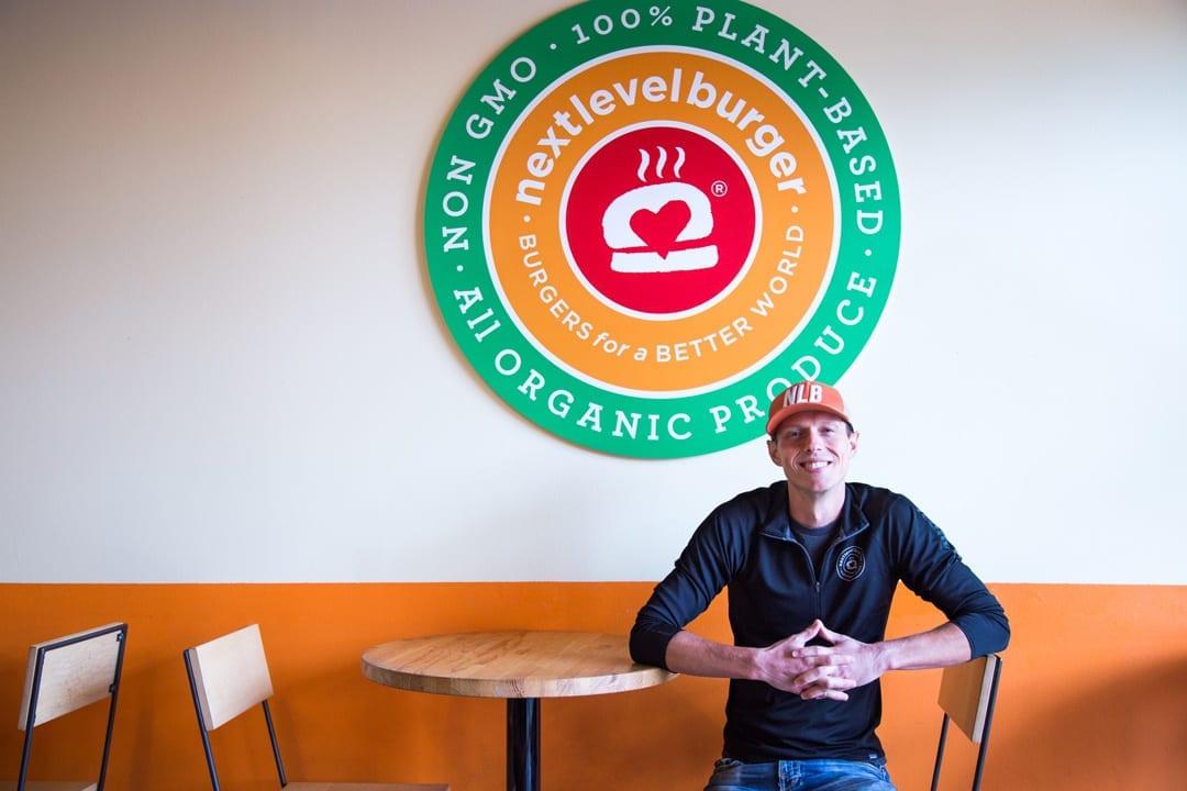 Next Level Burger owner Matt de Gruyter in Bend, Oregon