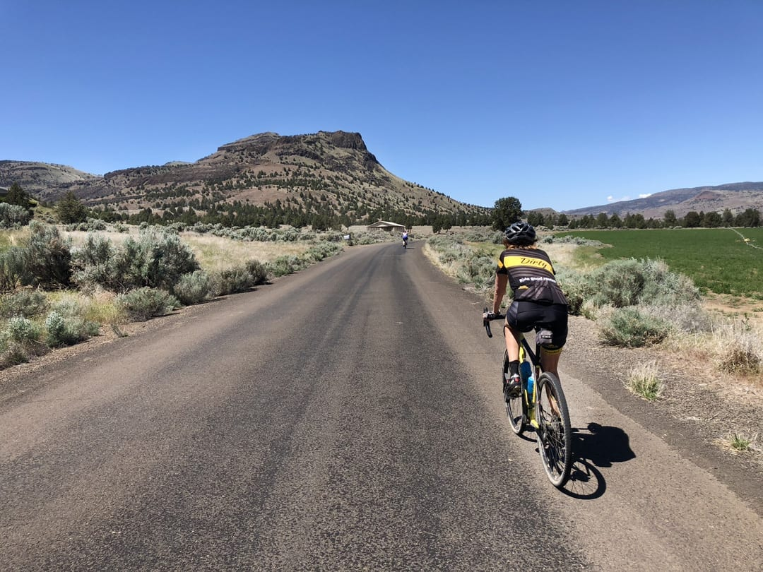 Gravel Biking Priest Hole in Eastern Oregon