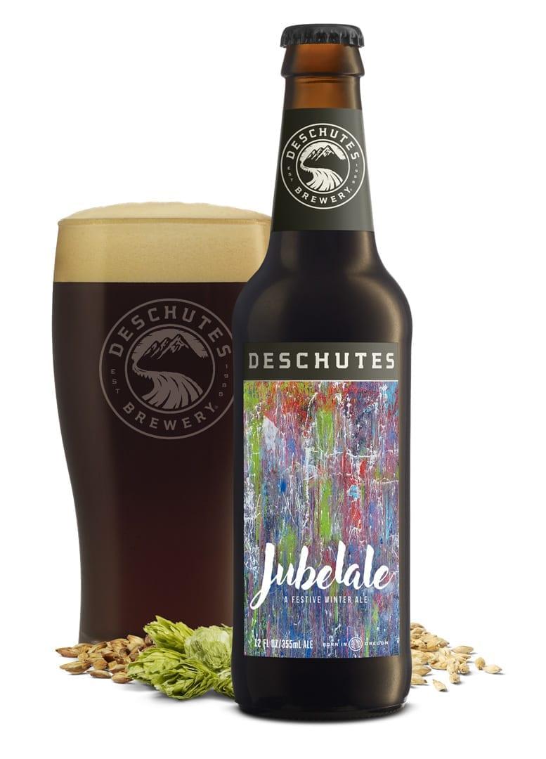 Winter beer Jubelale from Deschutes Brewery