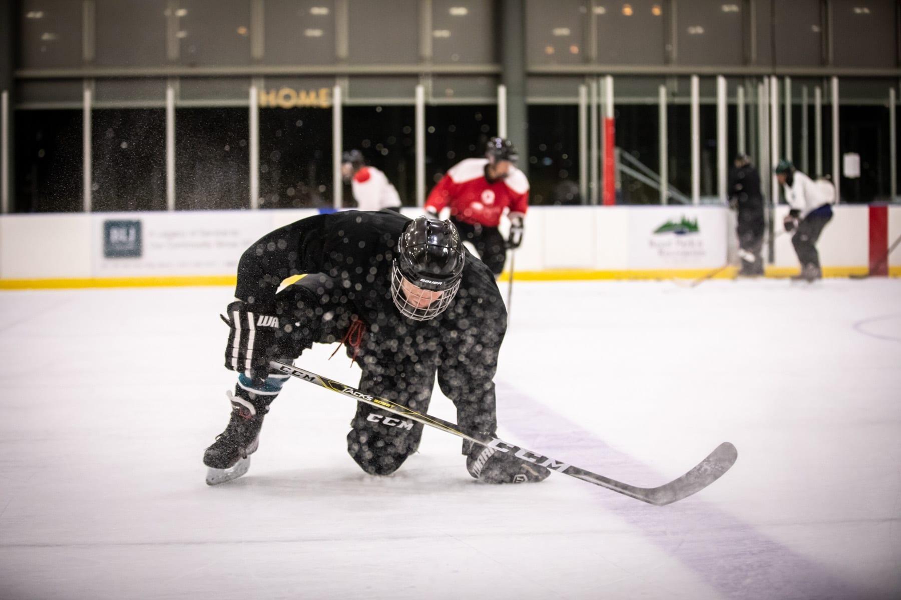 D-League Hockey in Bend, Oregon