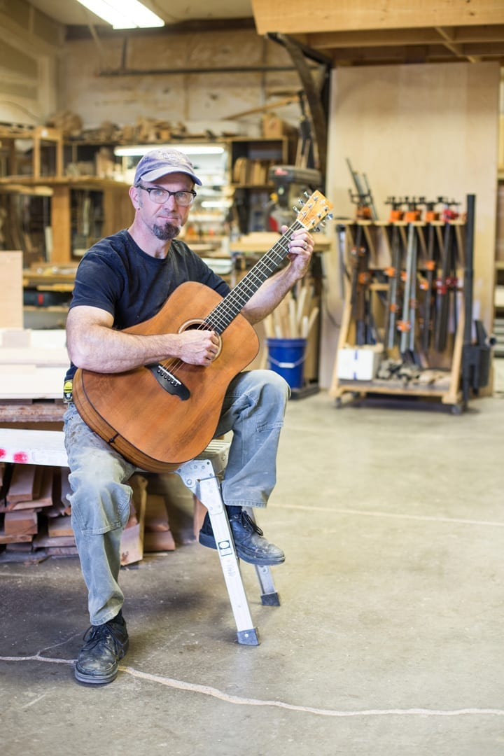 Will Nash of Nashwood is a woodworking artist in Bend, Oregon