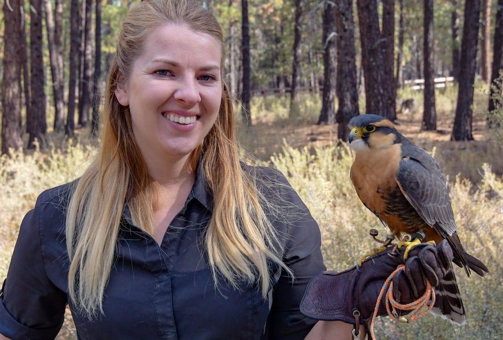 High Desert Museum in Bend, Oregon Associate Curator of Wildlife Alysia Wolf