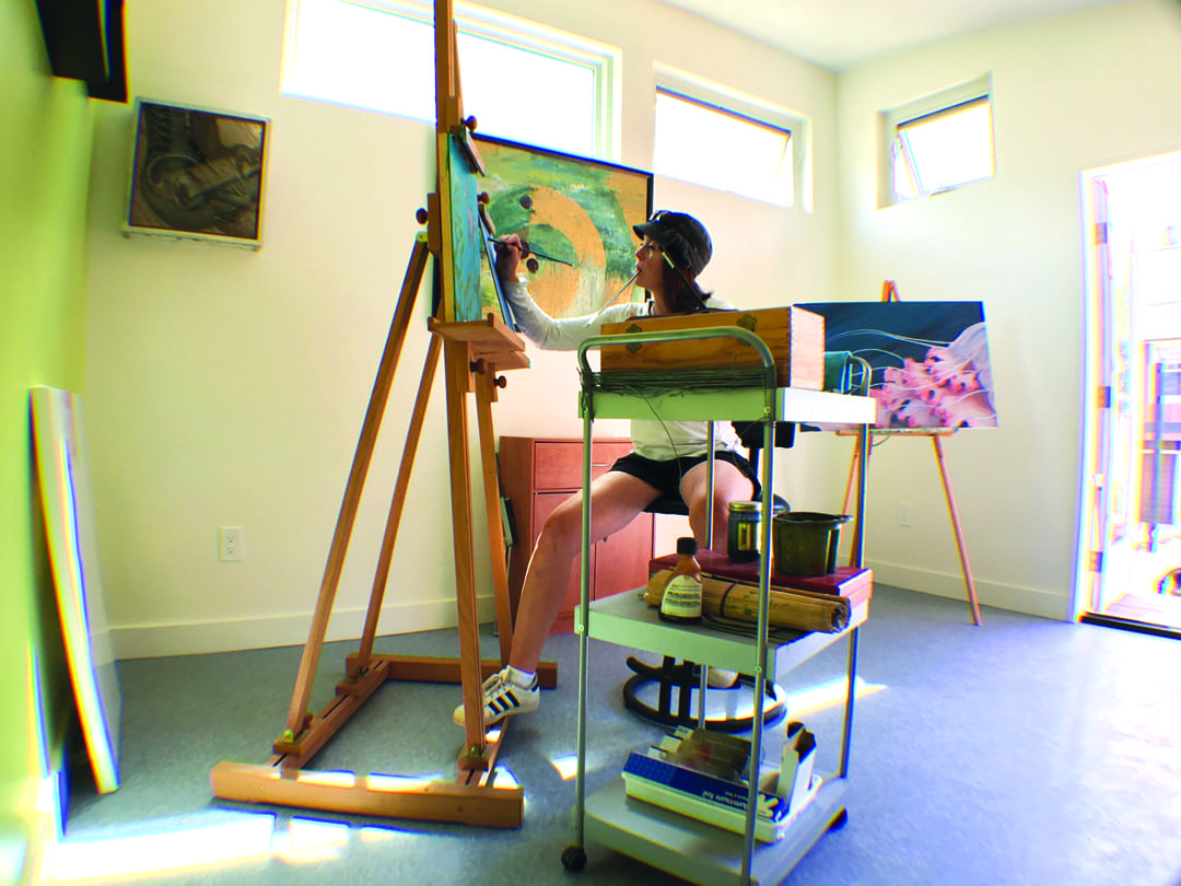The elbow room a hobby space for women in Bend, Oregon