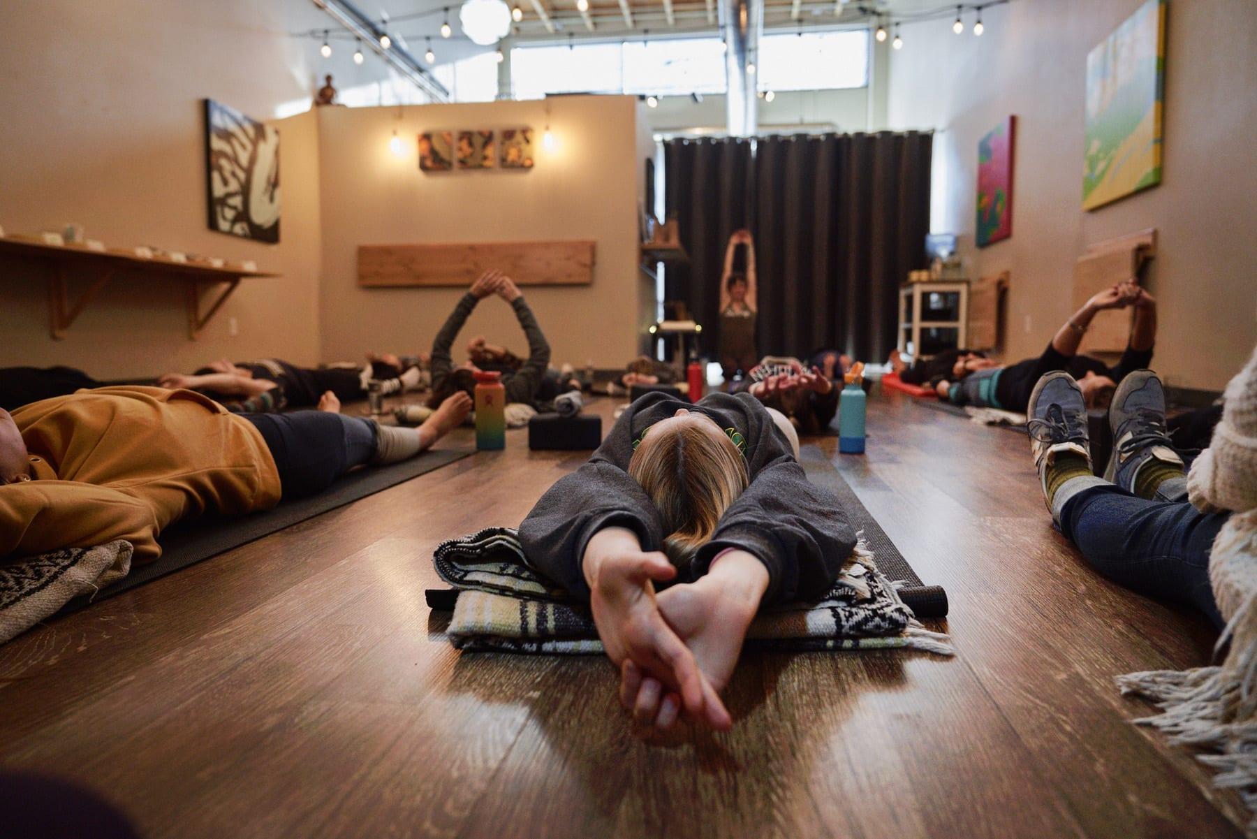 Sunny Yoga Kitchen in Bend, Oregon
