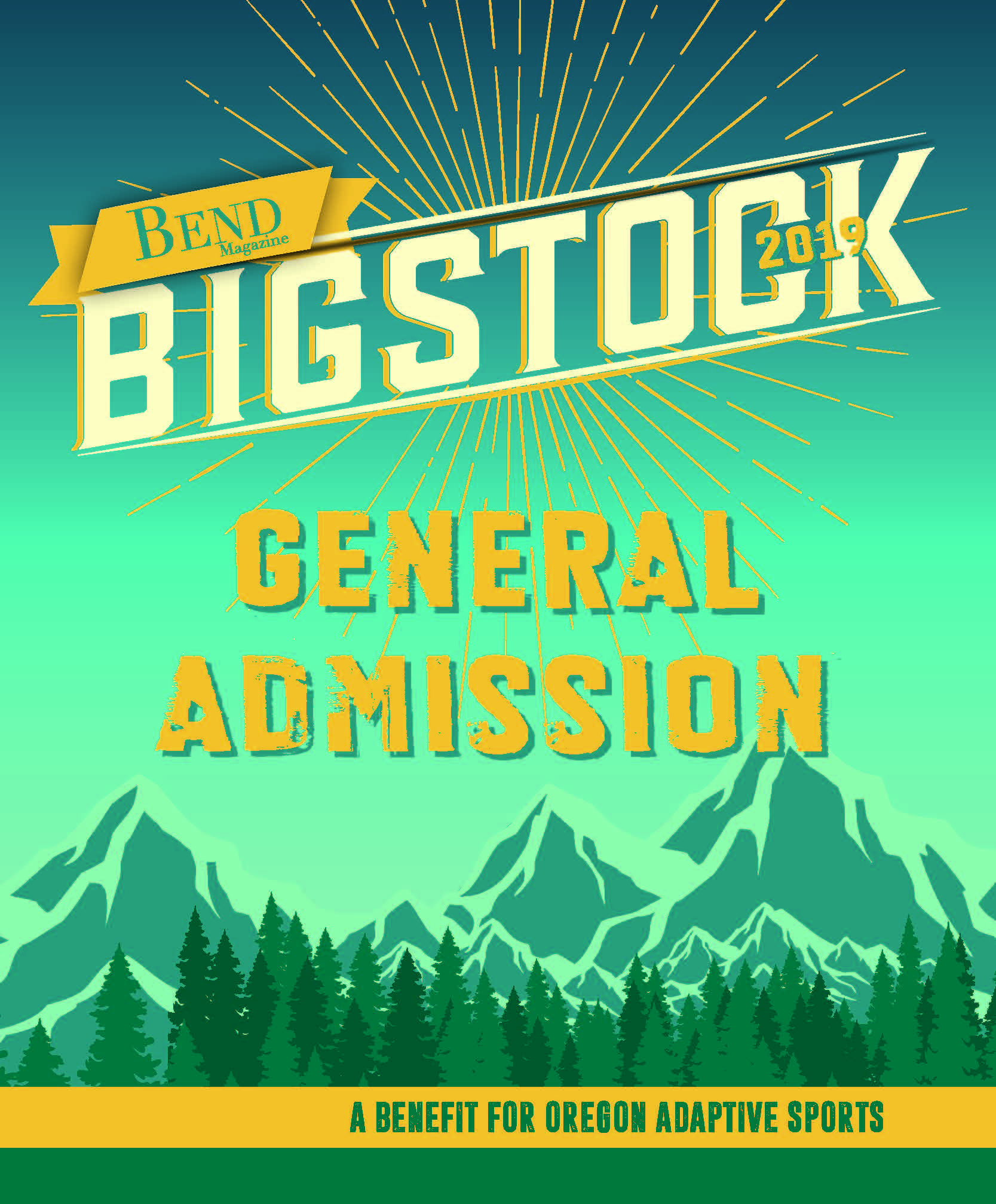 Bigstock August 10, 2019: 1 General Admission Ticket